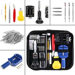 147Pcs Watch Repair Tool Kit Link Remover Spring Bar Tool Case Opener Set