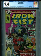 Iron Fist #5 CGC 9.4 (1976) First 1st Scimitar Chris Claremont John Byrne White