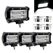 4x 5'' 72W LED Auto Car Fernscheinwerfer Zusatzscheinwerfer Arbeitsscheinwerfer