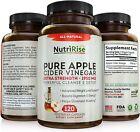 Apple Cider Vinegar Capsules - 3X Potency 1950mg - Weight Loss, Detox ...