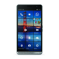 HP Elite X3 Business Smartphone, GSM Unlocked, 64 GB, Dual SIM, Windows 10