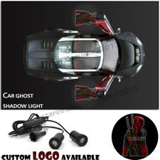 Car Door Welcome Deadpool X-man Logo Projector Laser Courtesy Ghost Shadow Light