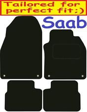 Saab 9-3 DELUXE QUALITY Tailored mats 2002 2003 2004 2005 2006 2007 2008 2009 20