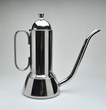 INOX - Very Sleek and Modern Italian Coffee server or Tea Pot Stainless Steel