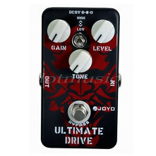 Guitar Effect Pedal Ultimate Drive Joyo JF-02 Bypass