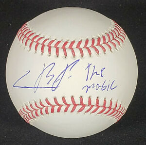 Cristian Pache Autographed Signed Baseball Inscribed The Magic w/ JSA COA!!