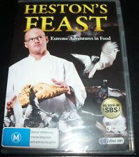 Heston's Feast Heston Blumenthal (Australia Reg 4) SBS DVD - New