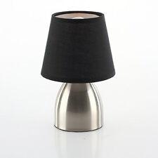 Lampe Tactile 3 intensités de chevet pied en métal   Noir  Déco Bureau Luminaire