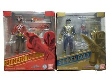 SH Figuarts Power Rangers Samurai Shinken Red and Gold