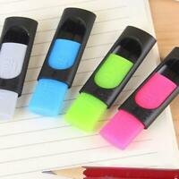 3pcs Rubber Eraser for Erasable Friction Gel Pen Pencil Stationery School R Top