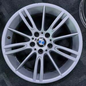 """18"""" GENUINE BMW M Spec wheels PCD: 5x120  18x8 35P Suit 1 2 3 series E46"""