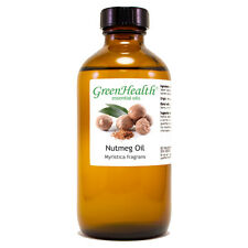 8 fl oz Nutmeg Essential Oil (100% Pure & Natural) Glass Bottle