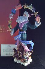 Lenox 2012 Santa's Magical Rainbow of Gifts Annual Pencil Santa Figurine NIB COA