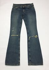 Richmond jeans bootcut zampa donna usato w30 tg 44 destroyed boyfriend T3208