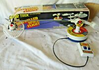 Vintage Star Trek CSF Controlled Space Flight 1976 Used With Box (FOR PARTS)