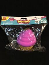 Soft'n Slo Squishies Jumbo Chocolate Heart Cupcake -Ultra Soft Slow Rising