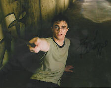 DANIEL RADCLIFFE Hand Signed 8 x 10 HARRY POTTER Photo AUTOGRAPH w/ COA AUTO