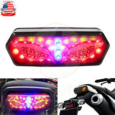 Integrated LED Turn Signal Brake Tail Light Eye For Honda Grom MSX 125 2014-2019