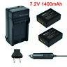NP-W126 NPW126 Batteries&Charger For Fujifilm Fuji X-Pro1 XPro1 X-T1 XT1,HS30EXR