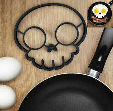 Silicone Skull Egg Fried Mould Omelette Shaper Ring Kitchen Cooking Tool Gadgets