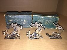 VINTAGE SINGER Sewing  Machines  ROTARY Box Attachments--Box Of 3