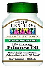 21st Century Evening Primrose Oil Capsules 60ct -FREE WORLDWIDE SHIPPING-