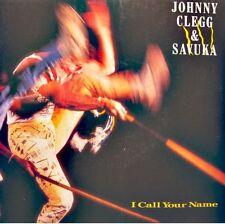 ++JOHNNY CLEGG & SAVUKA i call your name/shine a light SP 1988 EMI VG++