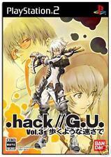 PS2 .hack//G.U. Vol. 3: Aruku Youna Hayasa de IMPORT JP