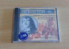 GIUSEPPE DE LUCA ON RADIO - CD SIGILLATO (SEALED)