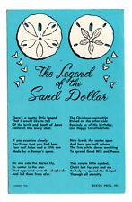 The Legend of the Sand Dollar - Posted 1968 to Master A Ness, 71 Circular Road