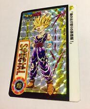 Carte dragon ball Dbzstars Fancard Carddass Hondan card prism C4 Set Sayajin SP