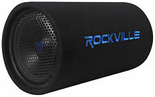 "Rockville RTB10A 10"" 500w Powered Subwoofer Bass Tube + Bass Remote"