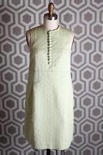 NWT See by Chloe Green Sleeveless Jacquard Dress US 4 I 40 F 36