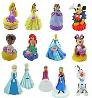 Disney Coin Bank Collection - Molded Piggy Mickey Minnie Belle Cars Doc Bank