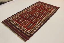 nomades PICASSO aspect Kelim pièce unique PERSAN TAPIS d'Orient 3,38 x 1,69