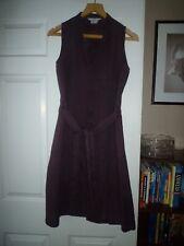 Zara purple ramie/linen summer shirt dress.Size L 12-14
