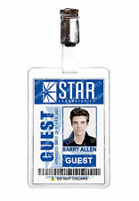 The Flash STAR LABS Barry Allen ID Badge Cosplay Prop Comic Con Comic Con