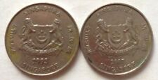 Singapore 2nd Series 2 pcs 20 cents (1993 & 2007) coin