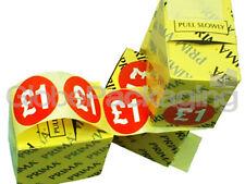 """ROTOLO di 500 """" £ 1"""" """"prezzo etichette Self Adesivo Adesivi"""