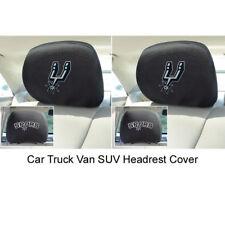 New 2pcs Set NBA San Antonio Spurs Automotive Gear Car Truck Headrest Covers Set
