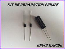 KIT REPARATION PHILIPS 42PFL8404H/12 2 DIODES SB260(SR260)+CONDENSATEUR 3300UF