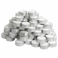 Tealights Unscented Candles Night Lights Party Lights 4 Hours Long Burning Time