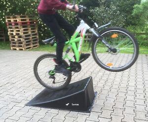 große Single Rampe Skaterrampe BMX Skateboard MTB Skates Inliner Board NEU