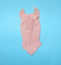 Vintage Barbie 981 Busy Gal Red White Stripe Body Blouse NM