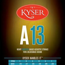 New Kyser A13 Bluegrass Acoustic Guitar Strings - 92/8 Phosphor Bronze, KA4