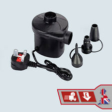 Extra Powerful Electric Air Pump 240V for Inflatables Boats Airbeds Camping