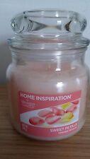 YANKEE Candle Jar ispirazione HOME SWEET PETALI 340g Nuovo di Zecca
