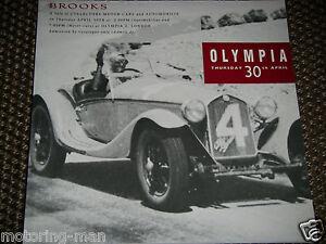 BROOKS AUCTION 1992 No15 OLYMPIA LONDON FACEL VEGA FERRARI 365 GTC AUSTIN HEALEY
