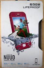 Lifeproof iPhone 7 NUUD Case Part Number 77-54282  Plum Reef Red