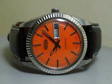Vintage Octo Automatic Day Date Swiss Mens Wrist Watch E152 Old used